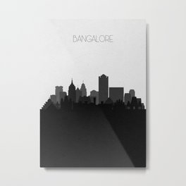 City Skylines: Bangalore Metal Print