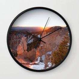 Bryce Canyon Sunrise Wall Clock