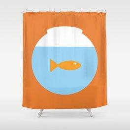Flushed 1 Shower Curtain