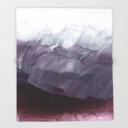 brushstrokes 15 Throw Blanket