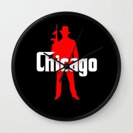 Chicago mafia Wall Clock