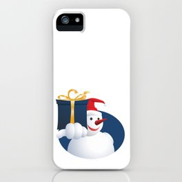 Giving Snowman... iPhone Case