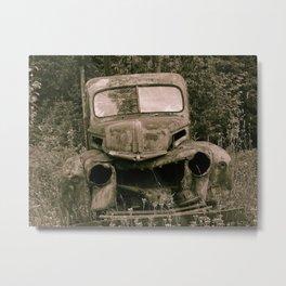 The Last Drive Metal Print