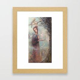 The Wishing Tree Framed Art Print