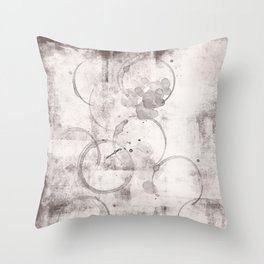 Coffee brown and cofee stain s10 Throw Pillow