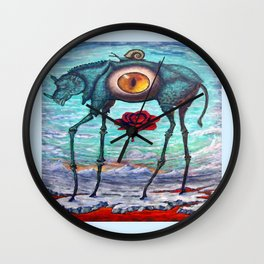 """BEAUTY IS IN THE EYE OF THE BEHOLDER"" Wall Clock"