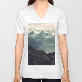 Mountain Fog Unisex V-Neck