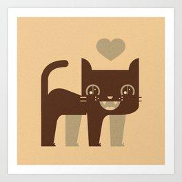 Kittie  Art Print