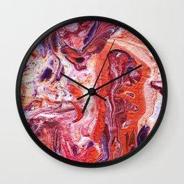 Groovy Lava Lamp Wall Clock