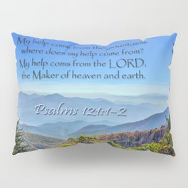 Psalms 121:1-2 Pillow Sham