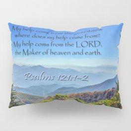 Psalms 121:1-2 Pillow Sham