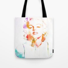 Marilyn Monroe Watercolor Pop Art33 Tote Bag