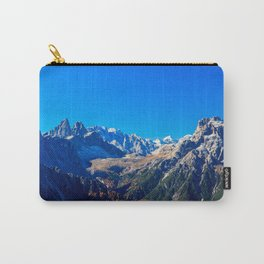 The Three Cime di Lavaredo in an autumn day Carry-All Pouch