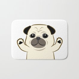 Hug Pug Bath Mat