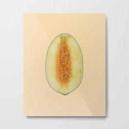 Pierced melon II Metal Print