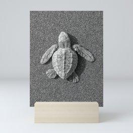 Baby Olive Ridley Sea Turtle Mini Art Print