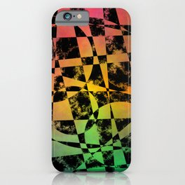 Faded Psyche iPhone Case