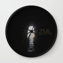 The Narrow Gate II Wall Clock