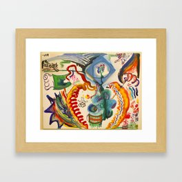 The Hero's Journey Framed Art Print