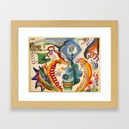 The Hero's Journey Framed Art Print