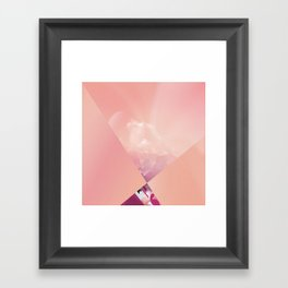 Almost a Kiss Framed Art Print