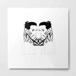 Turtleneck - III Metal Print