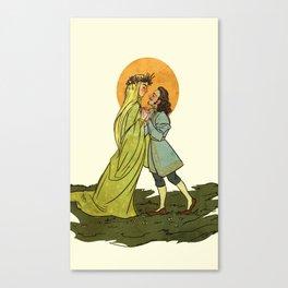 Springtime Barduil Canvas Print