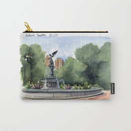 Bethesda Fountain - Central Park Carry-All Pouch