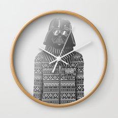 The Most Stylish Couple in Galactic 1 Wall Clock