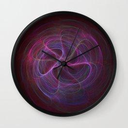 Neon Flavored Magic Beans Wall Clock