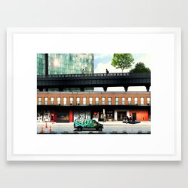 High life at the Standard - New York Framed Art Print