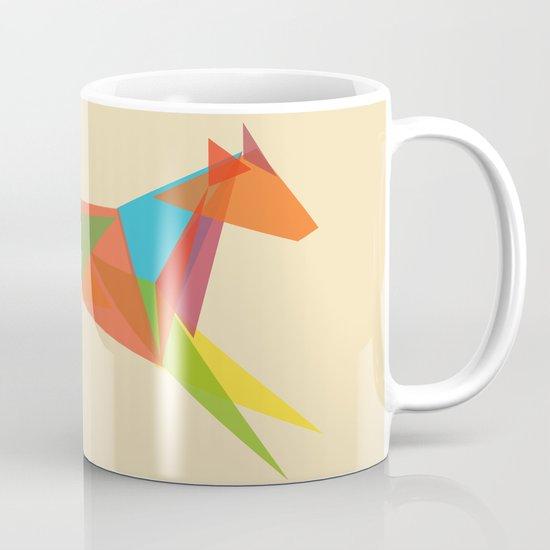 Fractal Geometric Dog Mug