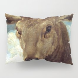 """Diego Velázquez """"Head of a Stag"""" Pillow Sham"""