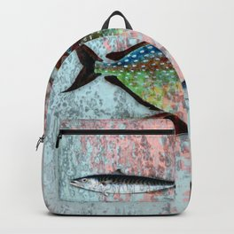 Into the Deep, Ocean Swimming Fish Backpack