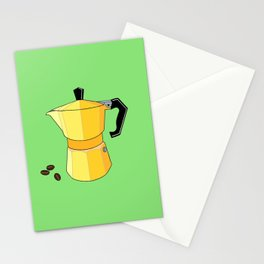 Yellow Rainbow Espresso Stationery Cards