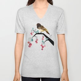 Bird, Watching Unisex V-Neck