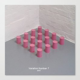 Variation Number 7 (photo) Canvas Print