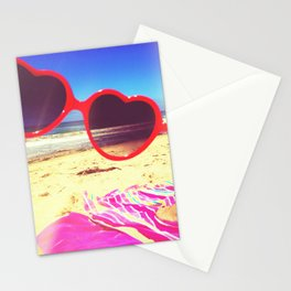Heart lies with the Pacific Stationery Cards