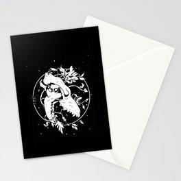 Worship the dark Stationery Cards