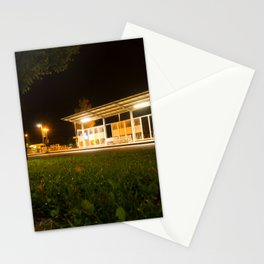 Bus and trainstation Stationery Cards