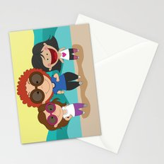Walking with mom Stationery Cards