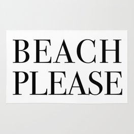 beach please Rug