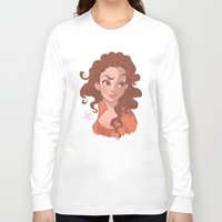 sassy Long Sleeve T-shirts featuring Sassy by MissAnnieKay