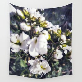 White puddles Wall Tapestry