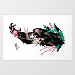 PANTHER a`la DANG Art Print