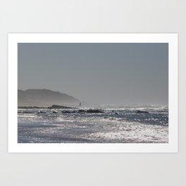 big beach Art Print