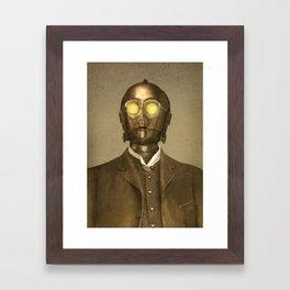 Baron Von Three PO  Framed Art Print