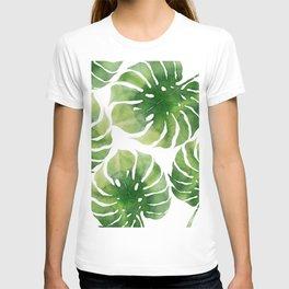 Monstera watercolor I T-shirt