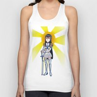 kill la kill Tank Tops featuring Kill la kill - SATSUKI  by Fenlaf