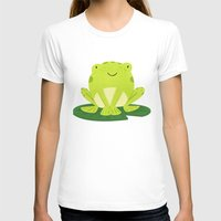 frog T-shirts featuring Frog by Claire Lordon